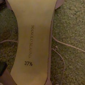 Manolo Blahnik Shoes - Manolo Blahnik, pale Plum, 37.5, ankle strap